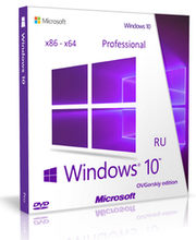 Microsoft Windows 10 Pro 32-64-bit Russian 1pk DSP OEI DVD